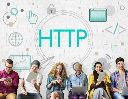 HTML HTTP Web Design Hompage Icon Stock Photo - 80728070