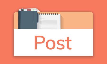 개인 주최자 메모장의 그림 스톡 콘텐츠