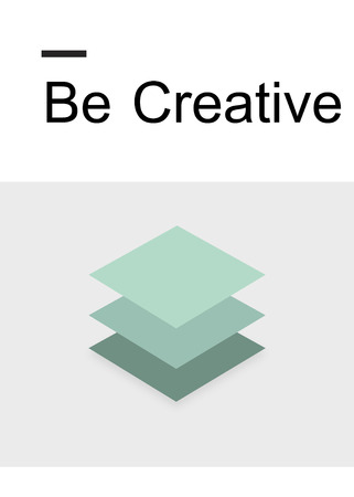 Creative Design Imagination Inspiration 3D Paper Stok Fotoğraf