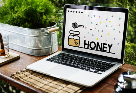 Sweet Honey Nature Organic Food Nutritious Graphic
