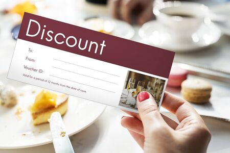 Gift Voucher Coupon Discount Special Offer Imagens - 80925322