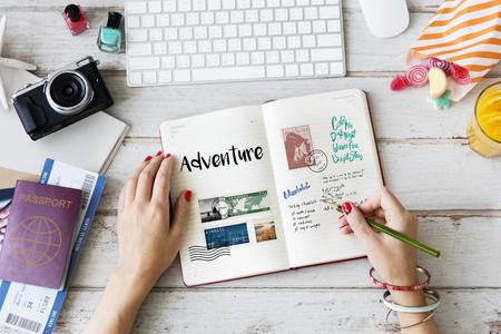 企画旅行の旅行ノート wanderkust