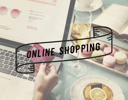 Fabulous life of shopping online for feminine