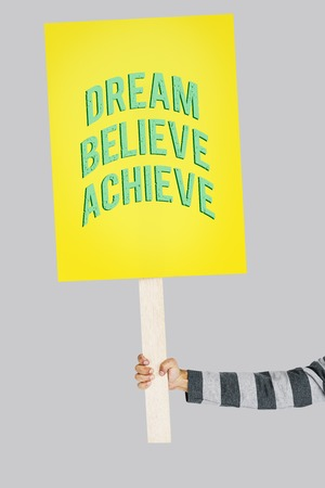 yourself: Attitude Life Motivation Inspire Achievement Stock Photo