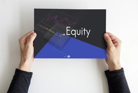 Borsa di Borsa Forex Trade Investment Fund Grafico Archivio Fotografico - 80936280