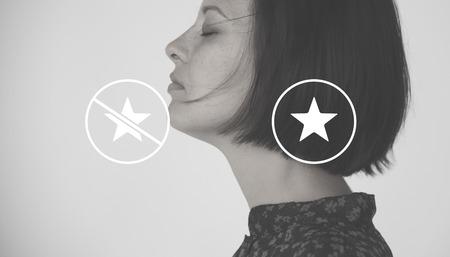 Star Favorite Emblem Icons Illustration Vector