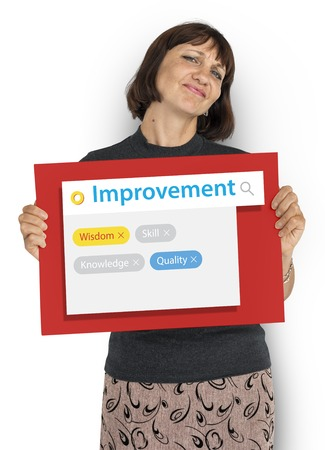 Enhance Thrive Performance Potential Improvement Stock Photo - 80815554