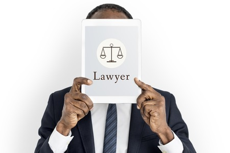 Law Judgement Justice Equality Concept