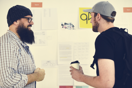 Startup Business People 및 전략위원회 프리젠 테이션 워크숍 스톡 콘텐츠 - 80832607
