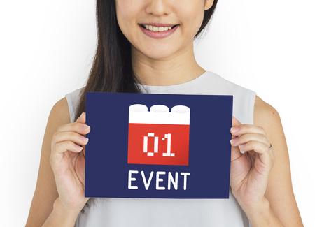 Calendar Agenda Diary Event Planner Stock Photo