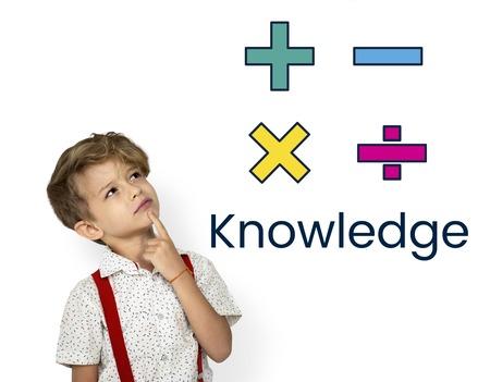 Math Formula Calculation Education Graphic Banco de Imagens