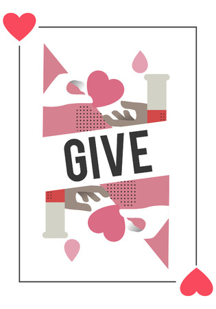 Doação de sangue salvar o conceito de vida Foto de archivo - 81011429