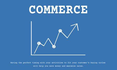 Stock Market Exchange Economics Investment Graph Фото со стока - 81011442