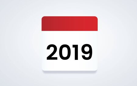Illustration of calendar schedule planning