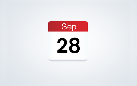 Calendar icon Stock fotó