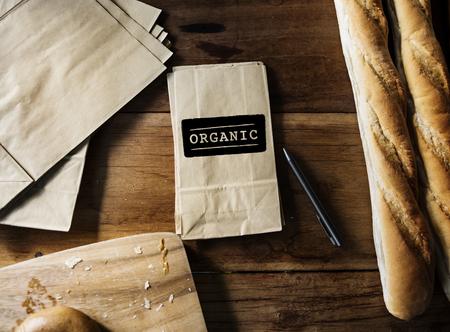Verse Natuurlijke Organische Productconcept Stockfoto