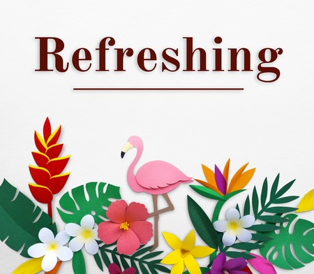 fresh idea: Fresh and beauriful flower for refreshing relaxation