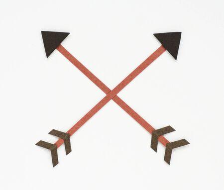 Bow archery icon symbol illustration