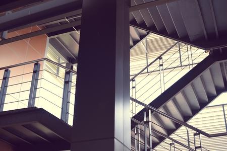 거주자 층 및 계단 설계 스톡 콘텐츠