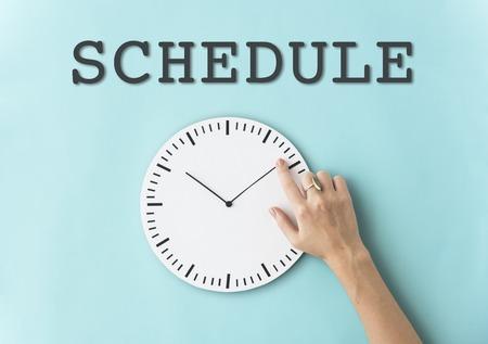 Schedule Alarm Clock Time Concept