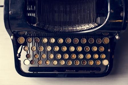 Retro Typewriter Machine Old Style