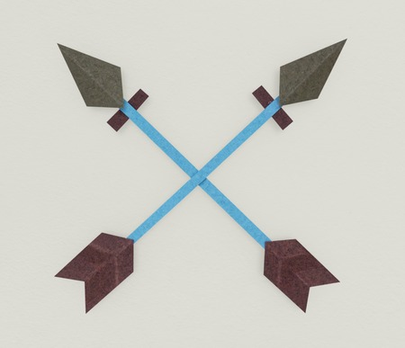 Arrow Archery Direction Icon Symbol Stock fotó - 81057045