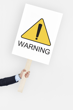 be careful: Warning Sign Caution Icon Word Stock Photo