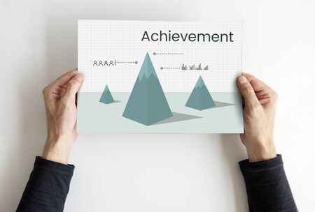Business achievement graph plan