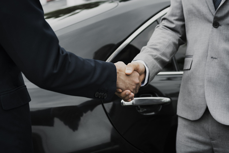 Business Men Agreement Deal Hands Shake Stock Photo
