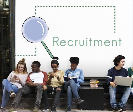 more mature: Recruitment Job Occupation Search Concept
