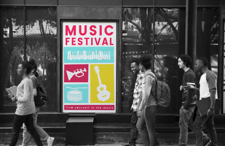 makes: Illustration of music festival passion leisure activity