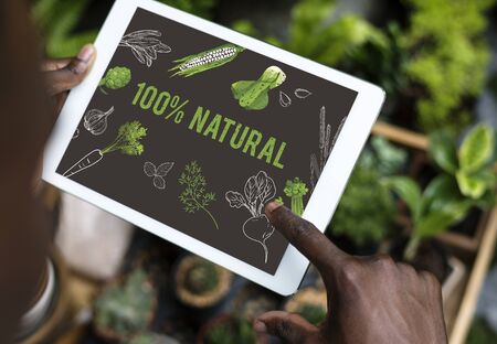 memo: Natural vegetable healthy life superfood