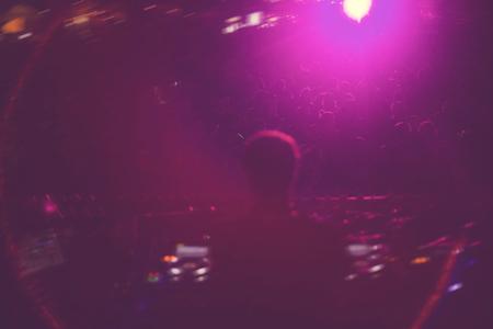 Electronic EDM concert music festival