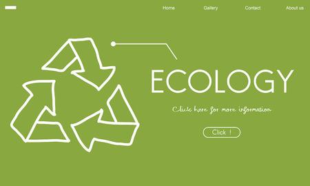 Ecologia riciclare World Green Sano Archivio Fotografico - 81124545