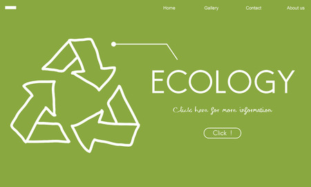 Ecology Recycle World Green Healthy Banco de Imagens