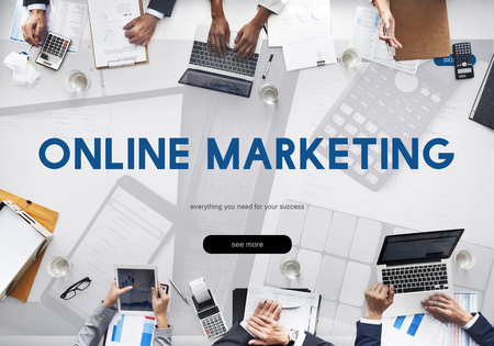 Online Marketing Campaign Media Word