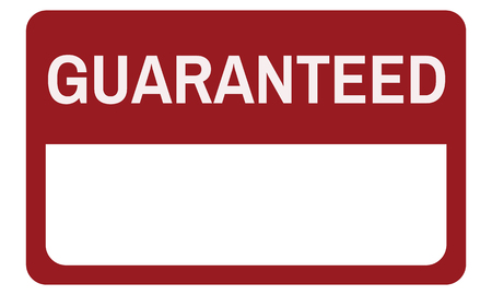 Original Premium Guaranteed Quality Banner Graphic Stok Fotoğraf