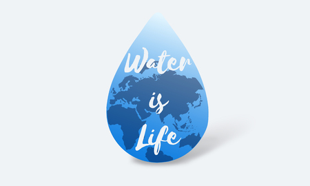 Global Water Sustainable Development March 22 Stock fotó