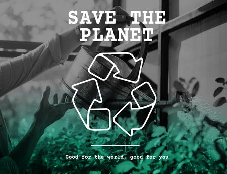 Recycle icon eco friendly green Stock Photo