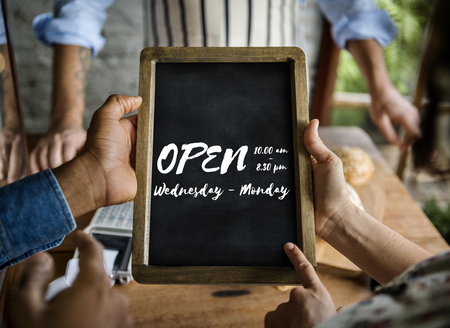Open available business launch phrase