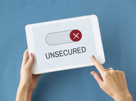 Blockierte nicht verfügbar Decline Schimmbad Geschlossen Standard-Bild - 81125382