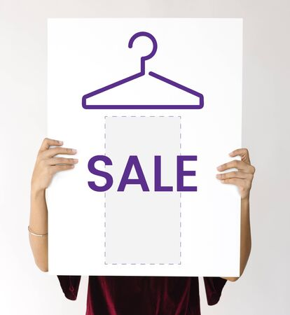 hangers: Hot deal clothes promotion clearance sale commercial