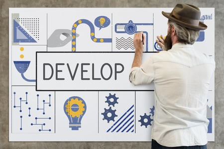 Fabrication Concept d'idées de l'industrie de la production