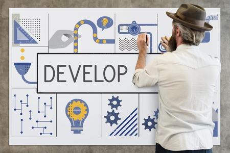 Fertigung Fertigungsindustrie Ideen Konzept