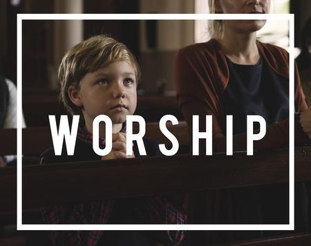 礼拝を信じる信仰宗教グレース ホープ