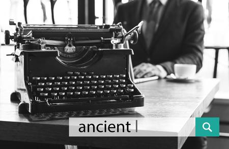 레트로 빈티지 고대의 희귀 아이콘 스톡 콘텐츠