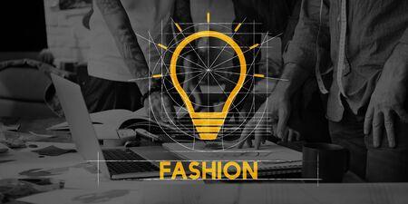 Teamwork Team Fashion Design Samenwerking Stockfoto