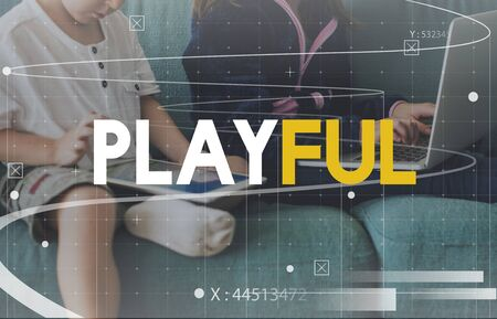 techie: E-learning kids hobby recreation with technology