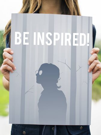Inspired Creative Motivation Imagination Stock Photo