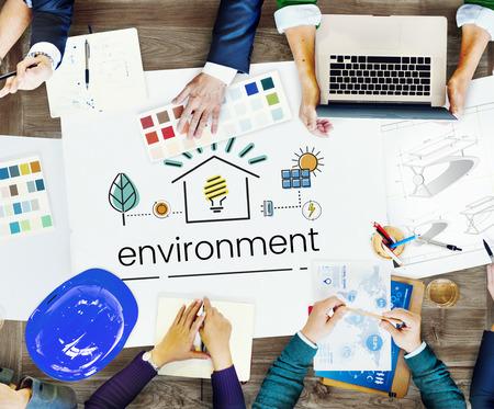 Medio Ambiente Sostenibilidad Eco Friendly Concept Foto de archivo - 81135093